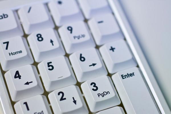 パソコンのテンキー
